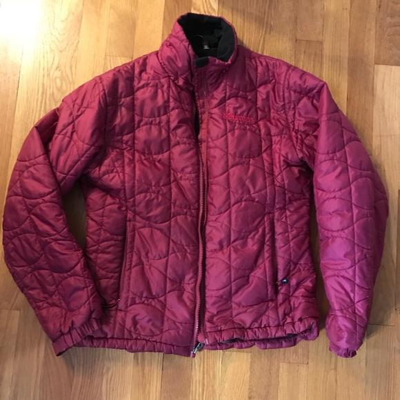 c77467de Marmot Jackets & Coats | Quilted Down Puffer Coat Magenta Size M ...